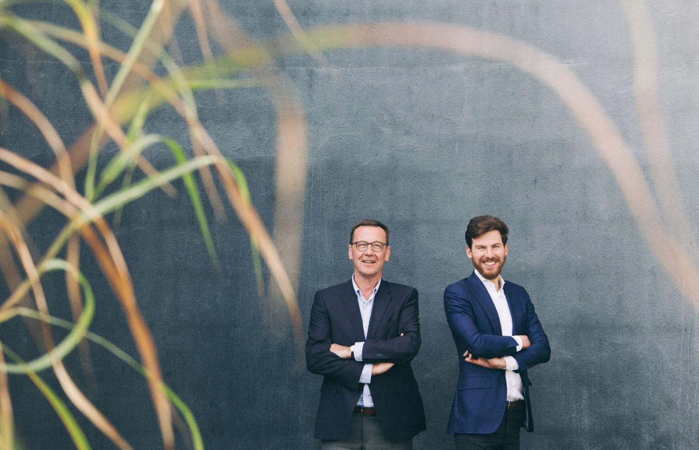 Courtel-Behaegel: zaakvoerders Filip Behaegel & Pieter-Jan Leenknegt